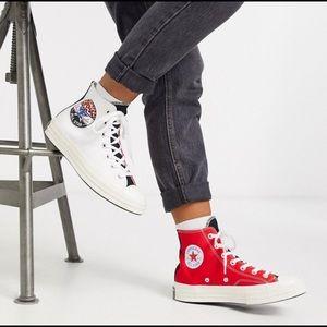 NWT Converse Logo Play Chuck 70 High Top
